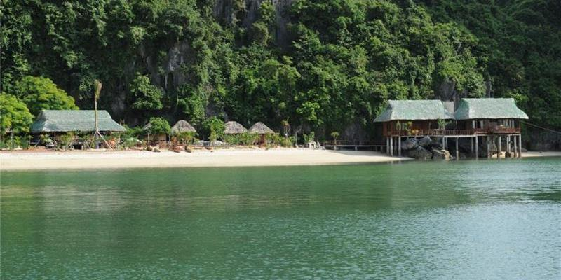 cat ba Nam Cat beach resort